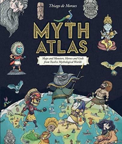 Myth Atlas - Thiago de Moraes - 9781407178134