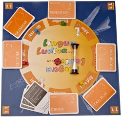 Lingua Ludica; Learn English by Playing (Board Game) -  - 4260147020002