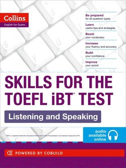 Collins Skills for the TOEFL iBT Test: Listening and Speaking with Audio CD -  - 9780007460601