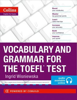 Collins Vocabulary and Grammar for the TOEFL Test with MP3 CD - Ingrid Wisniewska - 9780007499663