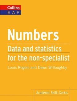 Collins English for Academic Purposes: Numbers - Louis Rogers - 9780007507153