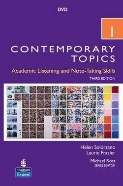 Contemporary Topics (3rd Edition) 1 Intermediate DVD - Helen S. Solorzano - 9780131358065