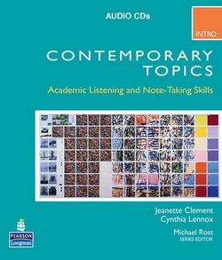 Contemporary Topics (3rd Edition) Intro Audio CD -  - 9780132075190