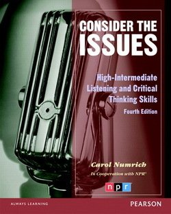 Consider the Issues Student Book - Carol Numrich - 9780132314893