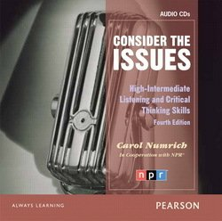 Consider the Issues Class Audio CDs - Carol Numrich - 9780132314909