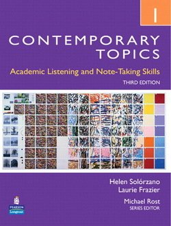 Contemporary Topics (3rd Edition) 1 Intermediate Student Book with DVD -  - 9780132316057