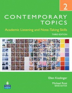 Contemporary Topics (3rd Edition) 2 High Intermediate Student Book with DVD -  - 9780132316071