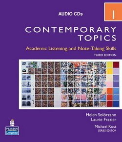 Contemporary Topics (3rd Edition) 1 Intermediate Audio CD - Helen S. Solorzano - 9780132424295