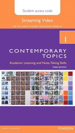 Contemporary Topics (3rd Edition) 1 Intermediate Streaming Video (Internet Access Code Card) - Helen S. Solorzano - 9780133994155