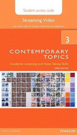 Contemporary Topics (3rd Edition) 3 Advanced Streaming Video (Internet Access Code Card) - David Beglar - 9780133994179