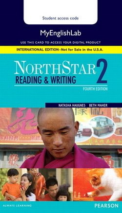 NorthStar (4th Edition) Reading & Writing 2 MyEnglishLab Internet Access Card - Natasha Haugnes - 9780134077963