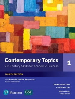 Contemporary Topics (4th Edition) 1 Intermediate Student's Book with Essential Online Resources - Helen S. Solorzano - 9780134400648