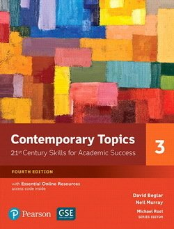 Contemporary Topics (4th Edition) 3 Advanced Student's Book with Essential Online Resources - David Beglar - 9780134400792