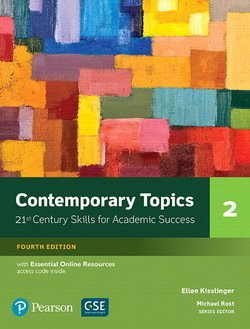 Contemporary Topics (4th Edition) 2 High Intermediate Student's Book with Essential Online Resources - Ellen Kisslinger - 9780134400808
