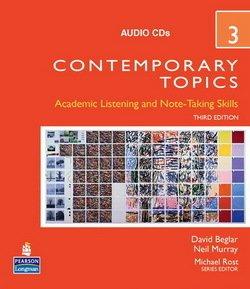 Contemporary Topics (3rd Edition) 3 Advanced Audio CD - David Beglar - 9780136005162