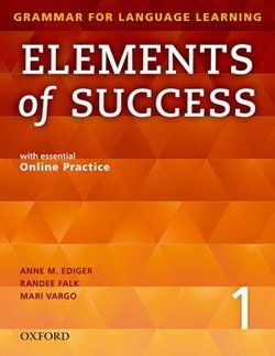 Elements of Success 1 Student Book with Online Practice -  - 9780194028202
