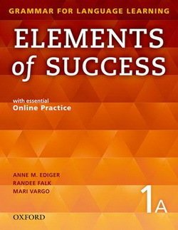 Elements of Success 1 Student Book A (Split Edition) with Online Practice -  - 9780194028219