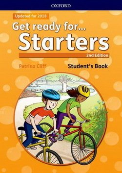 Get Ready for (2nd Edition - 2018 Exam) Starters Students Book with Downloadable Audio - Petrina Cliff - 9780194029452