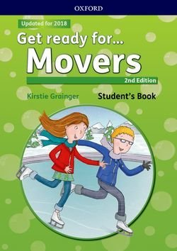 Get Ready for (2nd Edition - 2018 Exam) Movers Students Book with Downloadable Audio - Petrina Cliff - 9780194029483