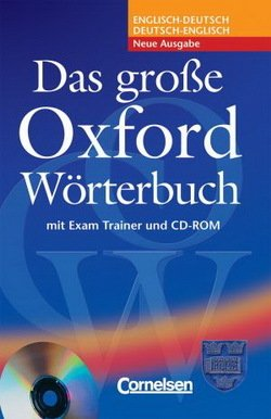 Das Grosse Oxford Worterbuch (2nd Edition) Trainer CD Pack -  - 9780194300049
