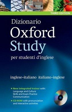 Dizionario Oxford Study per Studenti d'Inglese (3rd Edition) with CD-ROM -  - 9780194302999