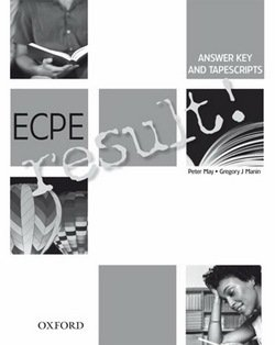 ECPE Result Answer Key & Tapescripts - Peter May - 9780194305471