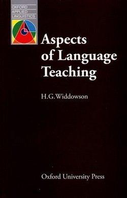 Aspects of Language Teaching - H. G. Widdowson - 9780194371285