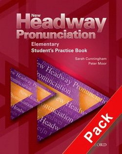New Headway Pronunciation Elementary Student's Book with Audio CD - Bill Bowler - 9780194393324