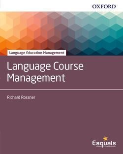 Language Course Management - Richard Rossner - 9780194403276