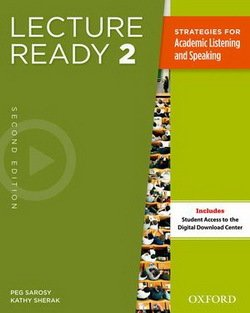 Lecture Ready! (2nd Edition) 2 (Intermediate) Student's Book Pack - Sarosy