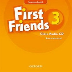 American First Friends 3 Class Audio CD -  - 9780194433273