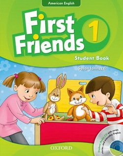 American First Friends 1 Student Book with Audio CD -  - 9780194433433