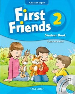 American First Friends 2 Student Book with Audio CD -  - 9780194433440