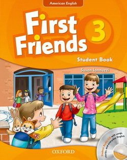 American First Friends 3 Student Book with Audio CD -  - 9780194433457