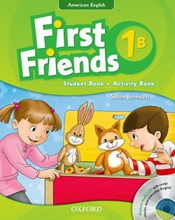 American First Friends 1 Combo Split Edition B (Student Book B & Workbook B) with Audio CD -  - 9780194433471