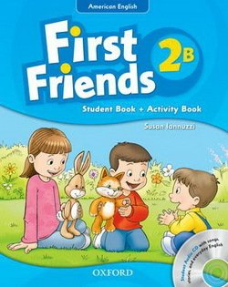 American First Friends 2 Combo Split Edition B (Student Book B & Workbook B) with Audio CD -  - 9780194433495