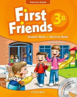 American First Friends 3 Combo Split Edition B (Student Book B & Workbook B) with Audio CD -  - 9780194433518