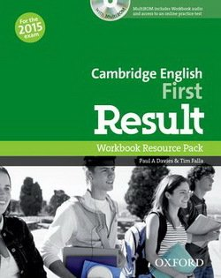 Cambridge English: First (FCE) Result Workbook without Key with Audio CD -  - 9780194511858