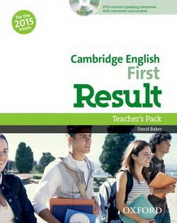 Cambridge English: First (FCE) Result Teacher's Book with DVD -  - 9780194511872