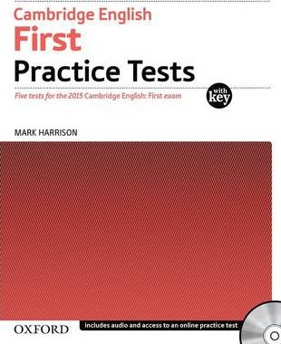 Cambridge English: First (FCE) Practice Tests with Key & Audio CD - Harrison