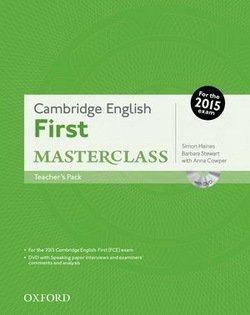 Cambridge English: First (FCE) Masterclass Teacher's Pack -  - 9780194512770