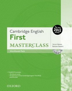 Cambridge English: First (FCE) Masterclass Workbook Resource Pack without Key with Audio CD -  - 9780194512831