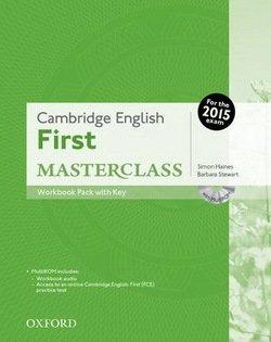 Cambridge English: First (FCE) Masterclass Workbook Resource Pack with Key & Audio CD -  - 9780194512848