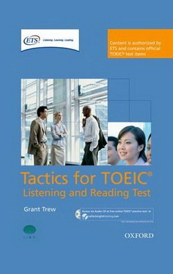 Tactics for TOEIC Listening and Reading Test Pack - Grant Trew - 9780194529594