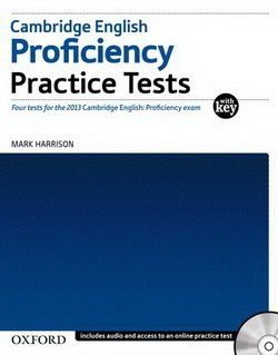 Cambridge English: Proficiency (CPE) Practice Tests with Key & Audio CDs (2) & Online Test - Harrison