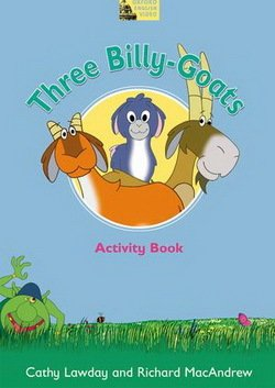 Fairy Tales Video: Three Billy-Goats Activity Book - Cathy Lawday - 9780194593236