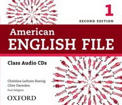 American English File (2nd Edition) 1 Class Audio CDs (4) -  - 9780194775618