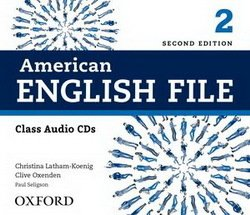 American English File (2nd Edition) 2 Class Audio CDs (4) -  - 9780194775625