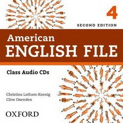 American English File (2nd Edition) 4 Class Audio CDs (4) -  - 9780194775649