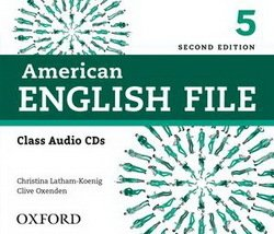 American English File (2nd Edition) 5 Class Audio CDs (4) -  - 9780194775656